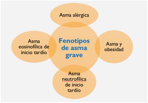 fenotipos de asma grave